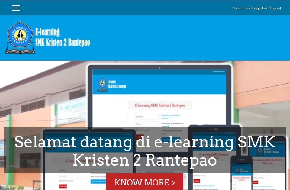 Menambahkan Materi Pada E-learning